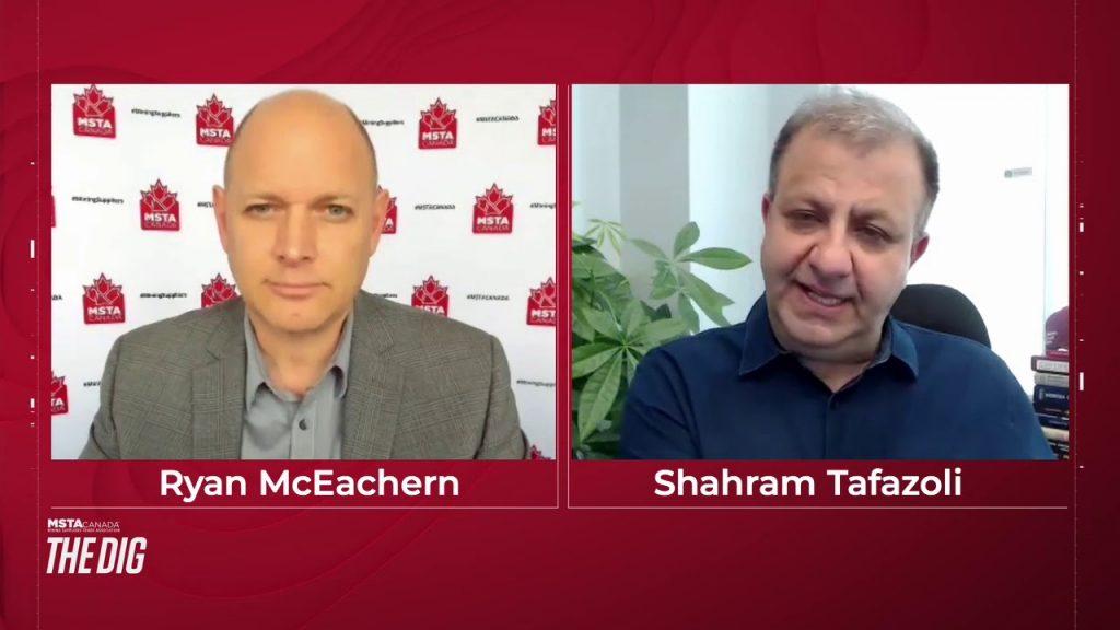 Episode 13 - Shahram Tafazoli, Founder and CEO of Motion Metrics international Inc.
