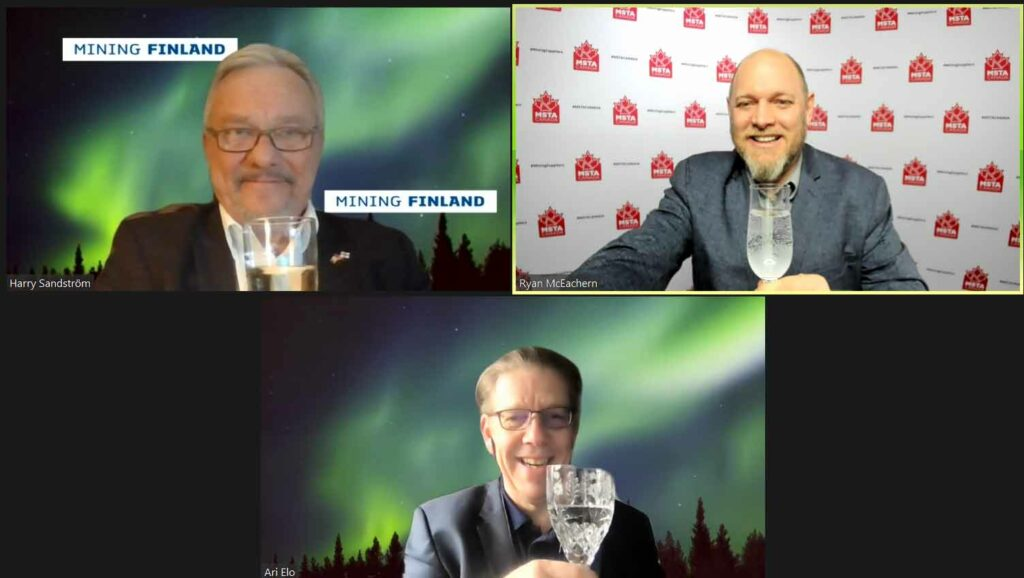 MSTA CANADA Connects with Finland Mining